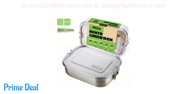 Leak Proof Stainless Steel Bento Lunch Box 40%OFF