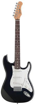 Đàn guitar điện Stagg S300BK