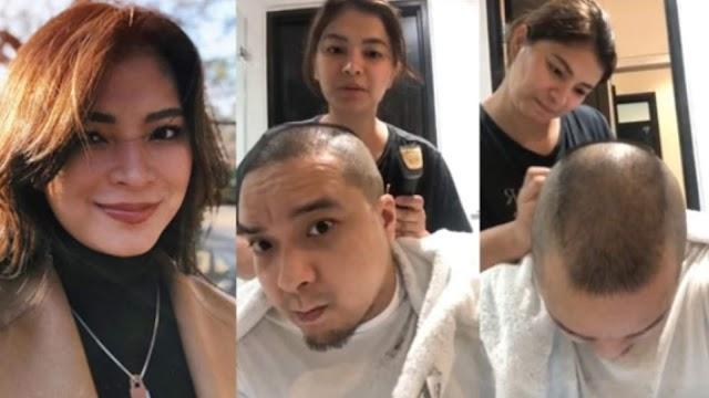 Video kung saan ginupitan ni Angel Locsin ang kanyang fiancée Viral
