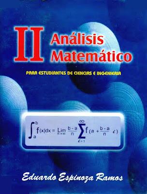 Análisis matemático II para estudiante de ciencias e ingeniería. Eduardo Espinoza Ramos- 3ra edición