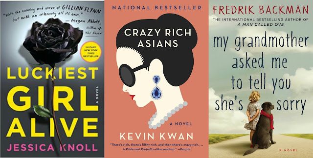My Grandmother Asked Me to Tell You She's Sorry review, book review, crazy rich asians review, kevin kwan review, luckiest girl alive review, is luckiest girl alive as good as gone girl?