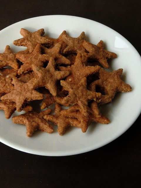 Spiced Ragi Biscuits