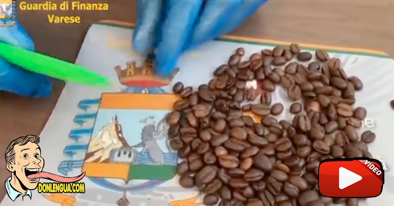 Narcotraficantes rellenaron granos de café con cocaína