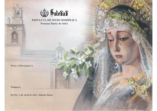 La Soledad de San Lorenzo edita una papeleta de sitio simbólica