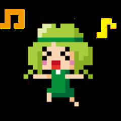 JP Coriander girl 3(Dot picture)