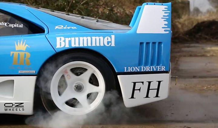 Ferrari%2BF40 Η θρυλική διπλοτούρμπινη Ferrari F40 GT στο... Farmkhana Ferrari, Ferrari F40, supercars, videos