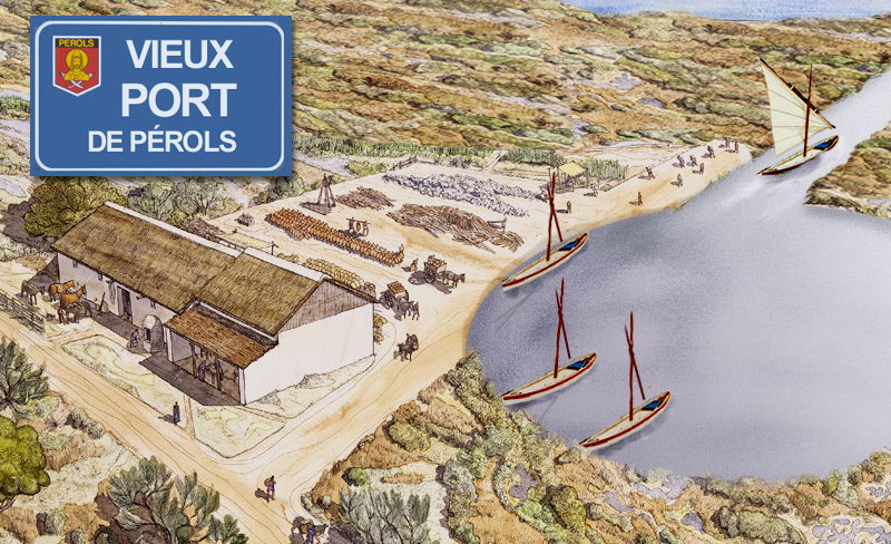 Port de Pérols autrefois