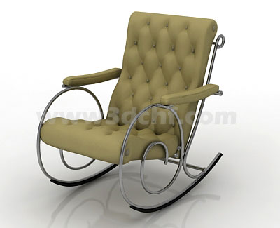 rocking chair 3d model free