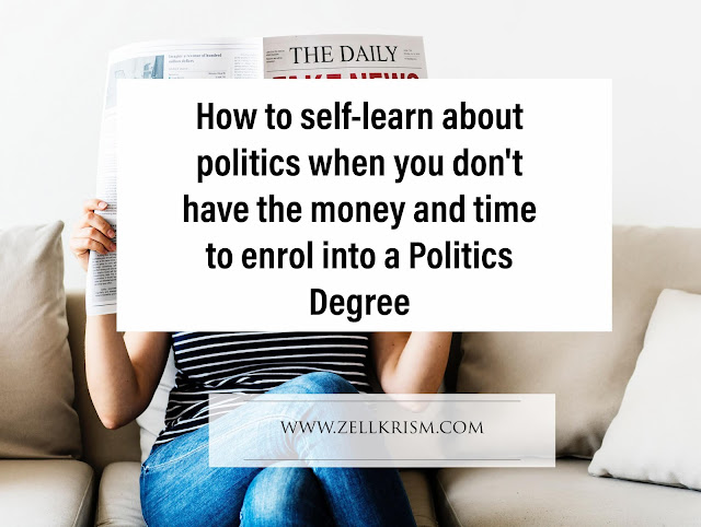 how to self learn politics self taught