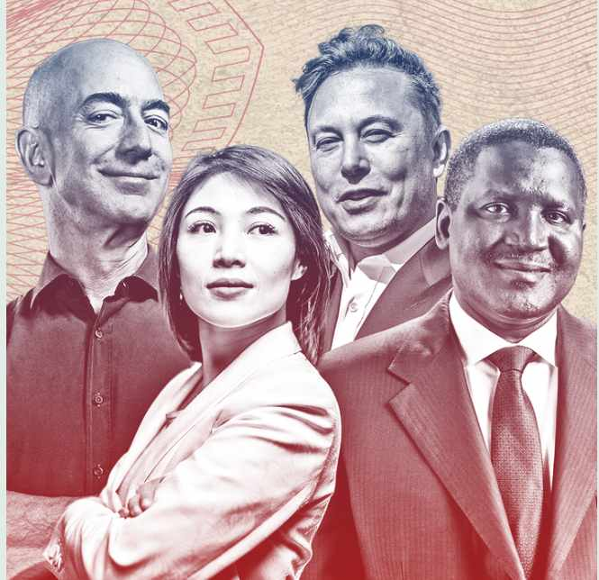 Top 10 World's Billionaires List 2021