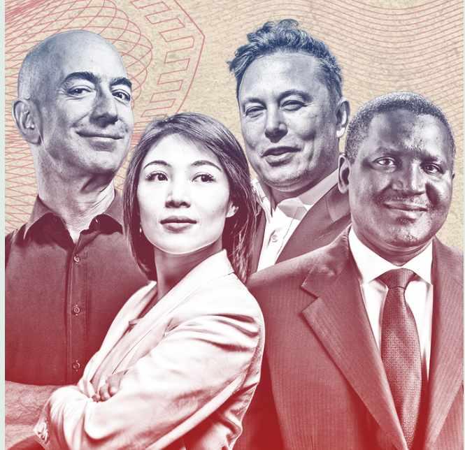 Top 10 World's Billionaires List 2021