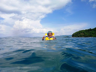 snorkling di gili nanggu lombok NTB