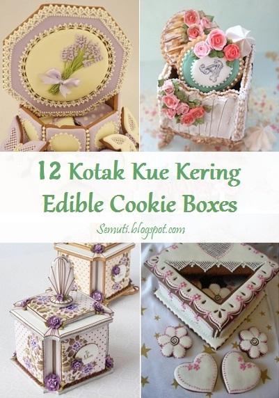 12 Kotak Kue yang Bisa Dimakan (Edible Cookie Boxes)