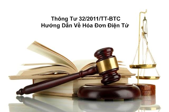 Thông tư 32/2011TT-BTC của Bộ Tài Chính
