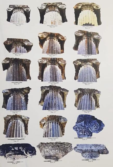 Aizanoi Antik Kenti ion sütunlar