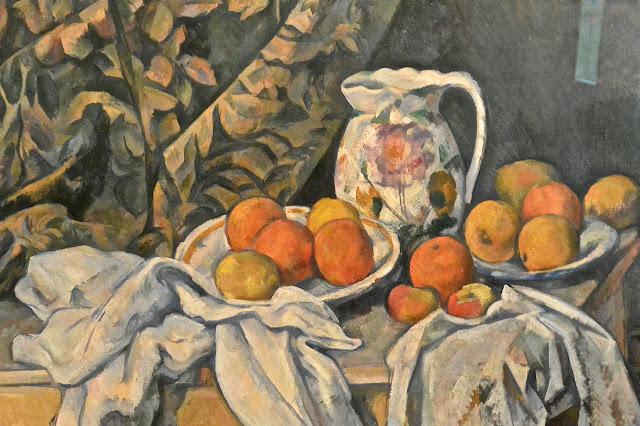 Paul Cézanne : nature morte  Saint Pétersbourg Ermitage 2 Etat-Major en face du palais d'Hiver