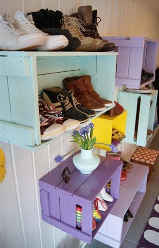 hacer un mueble bonito con guacales de madera