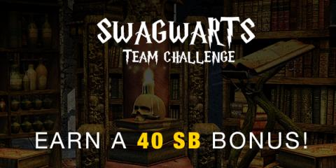Image: Enroll today in the Swagwarts team challenge hosted by Swagbucks, a website where you can earn cash back on everyday tasks you do online
