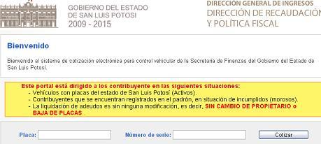San Luis Potosi Consulta Tenencia Y Placas 2020 Repuve