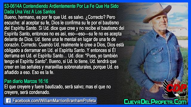 Fe mental vs Fe de corazón - William Branham en Español