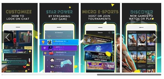 StreamCraft - Aplikasi Live Streaming Game Terbaik Untuk Android