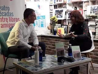 Elvira Lindo y Ernesto Calabuig