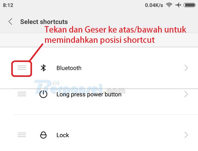 Cara Mengaktifkan Fitur Quick ball di Xiaomi MIUI8