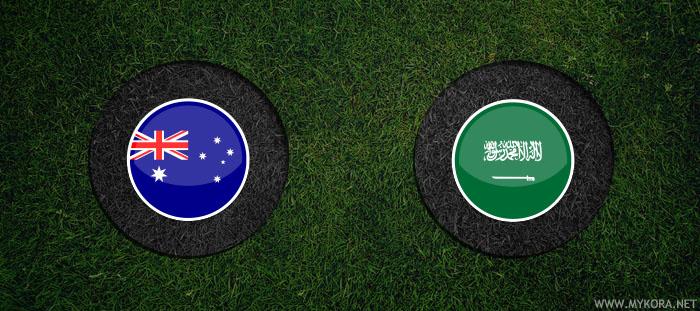 مشاهدة مباراة السعودية واستراليا