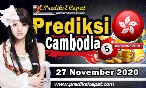 Prediksi Nomor Togel Cambodia 27 November 2020