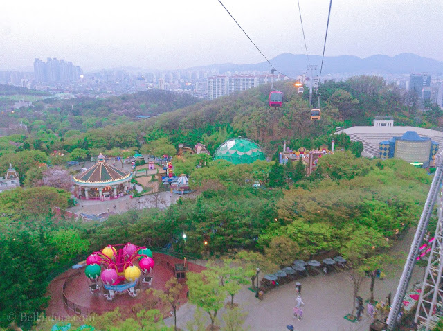 E-world, Daegu, E-land, Sky way, Sky Garden, 83 Observatory tower, Euroseum,
