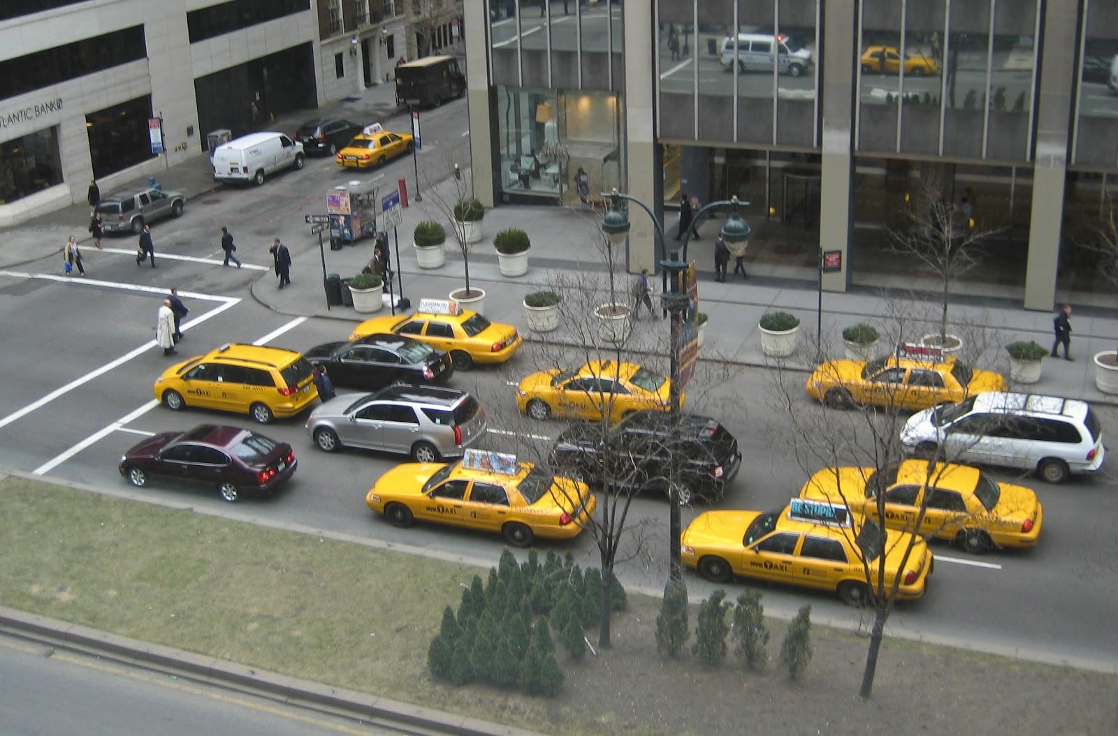 Genickstarre Nyc Yellow Cabs Oder Warum Sind Taxis Gelb