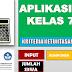 Aplikasi KKM/KBM Terbaru Untuk SMP/MTs Kurikulum 2013 Kelas 7, 8, 9