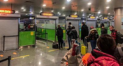 Украина вводит контроль авиапассажиров, прибывающих из Китая
