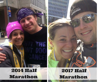 running a half marathon after cancer, stories of cancer hope, hodgkins lymphoma survivor