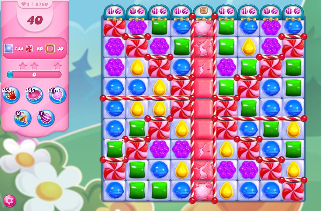 Candy Crush Saga level 9180