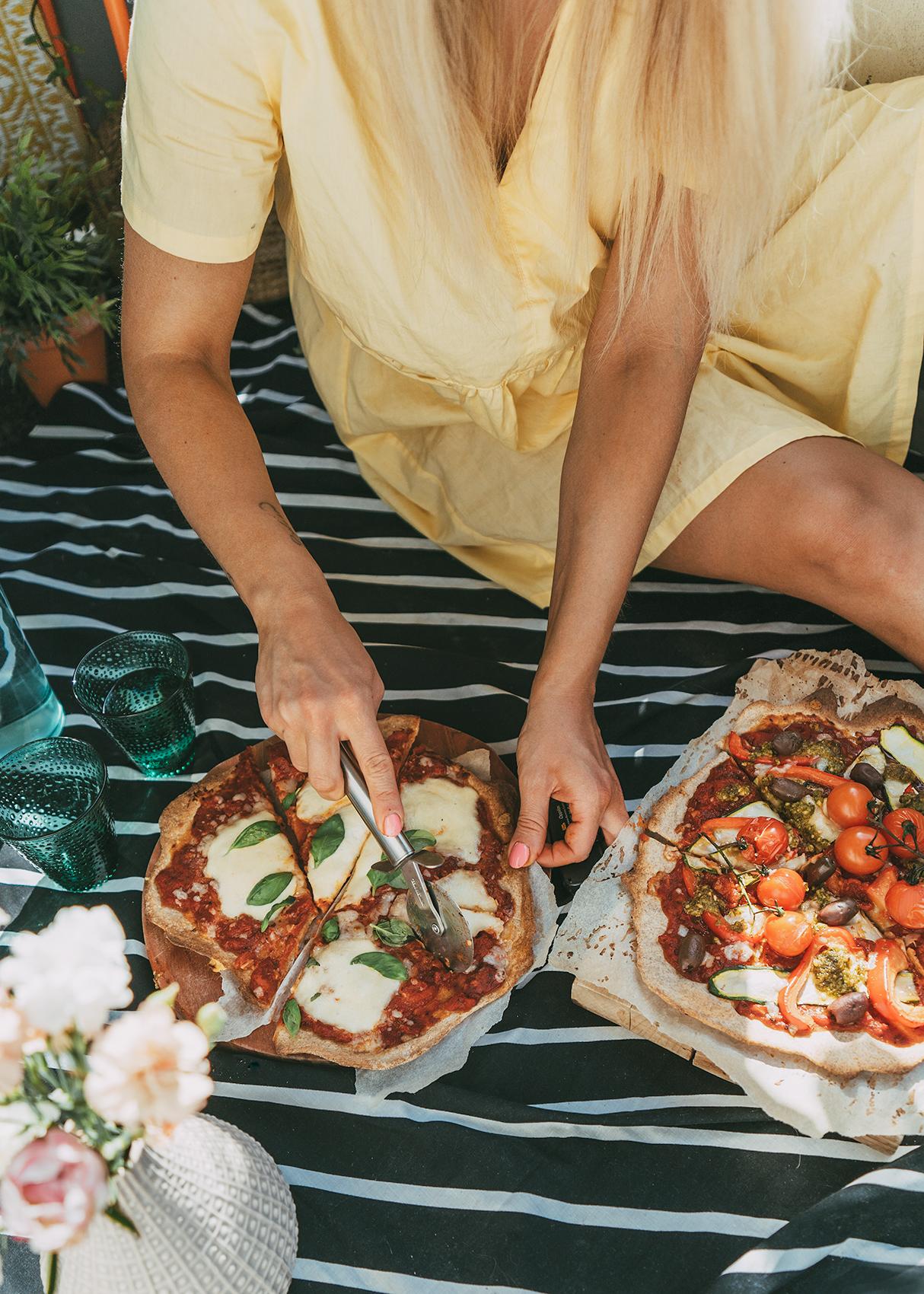 pizzapohja resepti