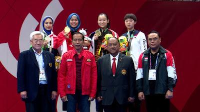 Defia Persembahkan Medali Emas Pertama Bagi Indonesia di Asian Games 2018