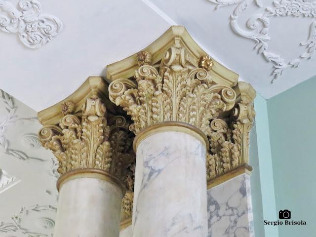 Palacete Violeta (detalhes das colunas Coríntias)