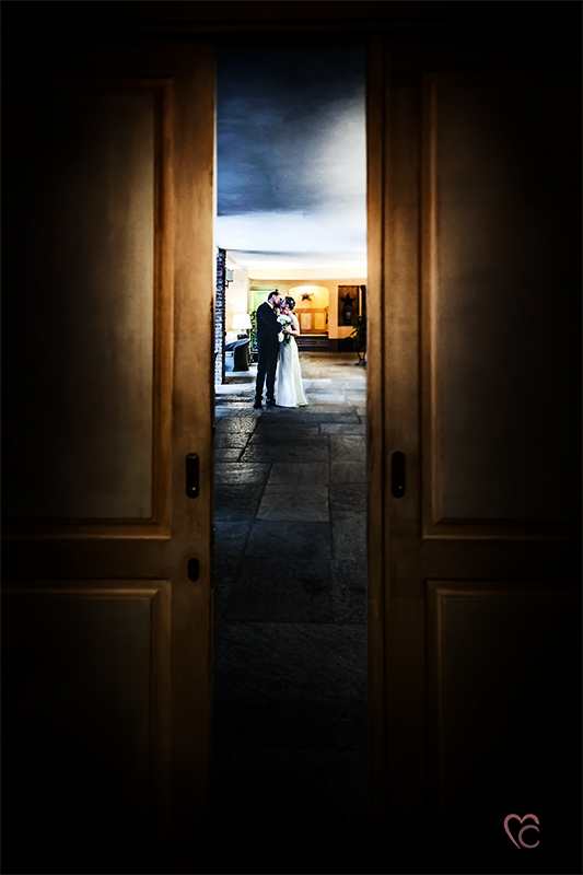 Matrimonio in Piemonte, di una coppia danese