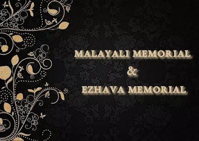 Malayali Memorial & Ezhava Memorial