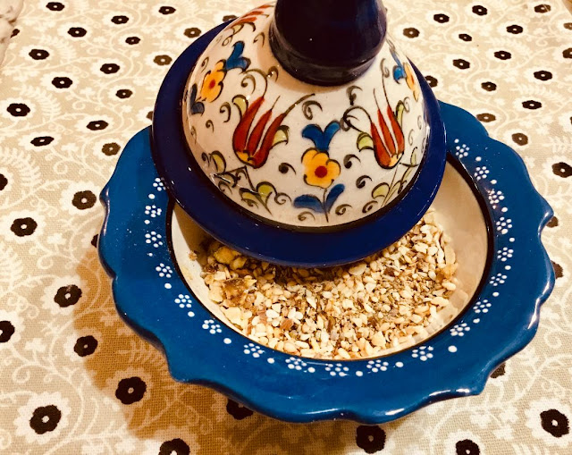 Egyptian dish with Dukkah