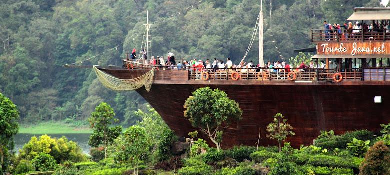wisata situ patenggang lake side kota bandung selatan