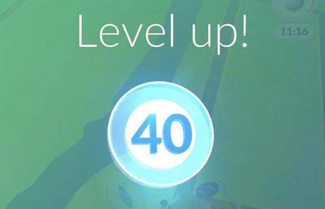 ماذا يحدث عندما تصل إلى المستوى 40 في Pokemon GO؟