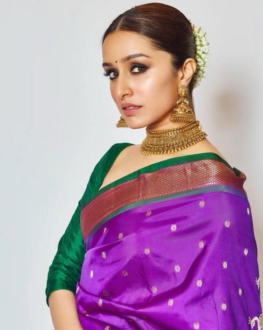 Shraddha Kapoor New Hot Photoshoot in Saree