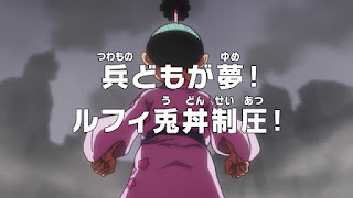 One Piece Episódio 950