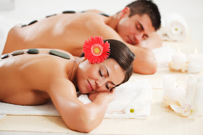 Couple Hot Stone Massage