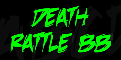 BB DEATHRATTLE DOWNLOAD FONT