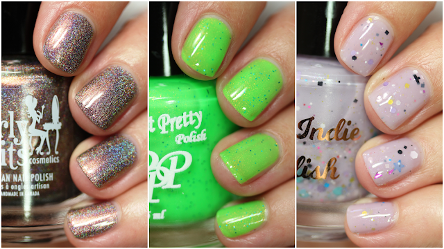 Polish Pickup August 2020 Weird Science swatches