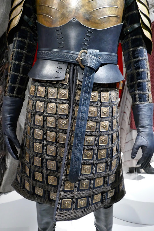 Brienne of Tarth costume detail Game of Thrones