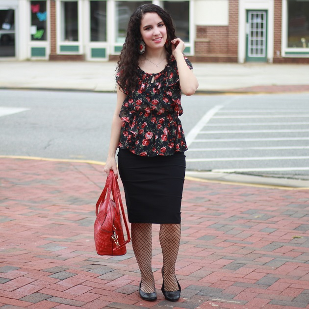 Kate Kasin Pencil Skirt